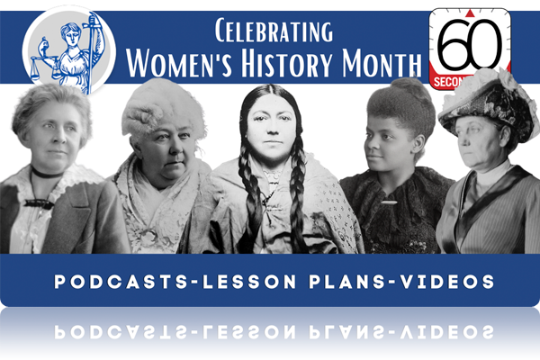 Teach Women's History Month with Lesson Plans and Daily Podcasts