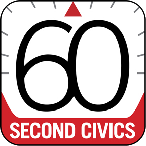 60-second civics logo