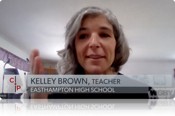 Easthampton Teacher Kelley Brown Interviewed for PBS