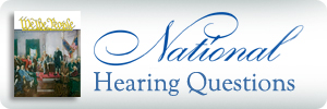 National Finals Hearing Questions