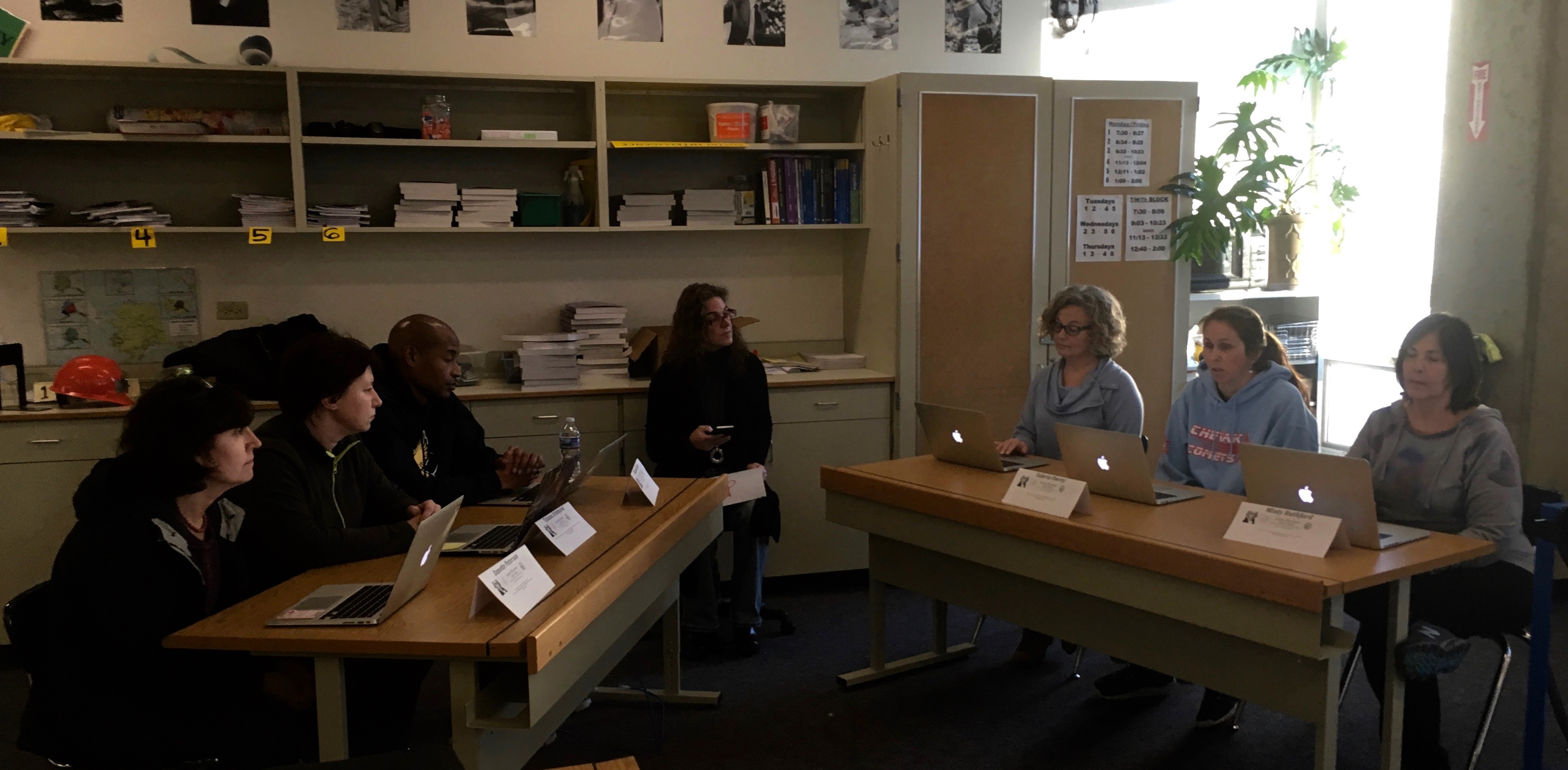 JMLP Teachers Role-Play a Mock Congressional Hearing