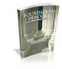 Foundations of Democracy Middle School Student Book image