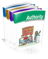 Foundations of Democracy Authority student textbook (image)